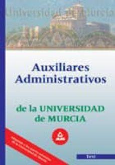 Cdaea.es Auxiliares Administrativos De La Universidad De Murcia. Test Image