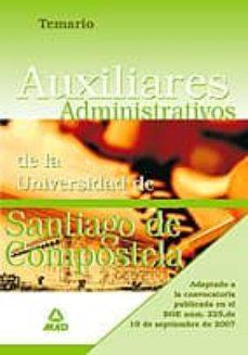 Titantitan.mx Temario Auxiliares Administrativos De La Universidad De Santiago De Compostela Image