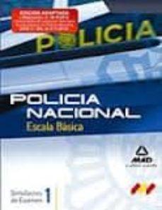 Relaismarechiaro.it Escala Basica De Policia Nacional. Simulacros De Examen. Volumen I Image