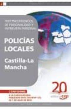 Carreracentenariometro.es Policias Locales De Castilla-la Mancha: Test Psicotecnicos, De Pe Rsonalidad Y Entrevista Personal Image