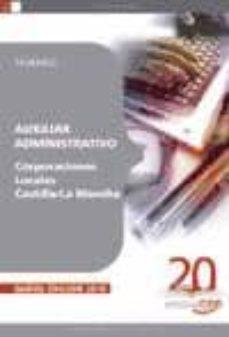 auxiliar administrativo corporaciones locales castilla-la mancha. temario-9788468105635