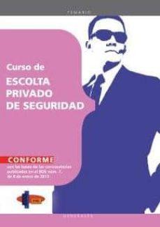Vinisenzatrucco.it Curso De Escolta Privado De Seguridad. Temario Image
