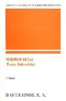 regimen local (texto refundido) (2ª ed.)-9788470283635