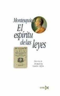 Descargar EL ESPIRITU DE LAS LEYES gratis pdf - leer online