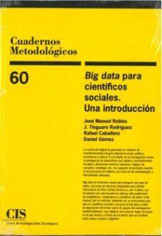 big data para científicos sociales. una introducción-9788474768435