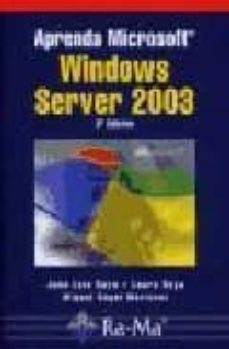 Descargar APRENDA MICROSOFT WINDOWS SERVER 2003, 3ª ED. gratis pdf - leer online