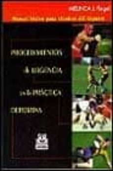 Amazon descarga de mp3 de libros PROCEDIMIENTOS DE URGENCIA EN LA PRACTICA DEPORTIVA: MANUAL BASIC O PARA TECNICOS DEL DEPORTE