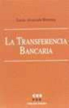 LA TRANSFERENCIA BANCARIA - LUCIA ALVARADO HERRERA | Adahalicante.org