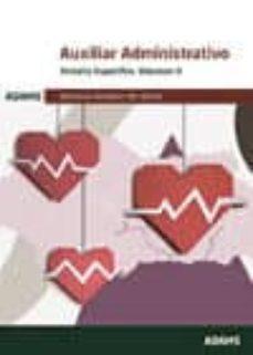 Encuentroelemadrid.es Auxiliar Administrativo Temario Específico Volumen Ii: Servicio Andaluz De Salud Image