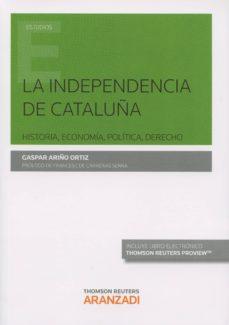 gaspar ariño ortiz la independencia de cataluña