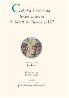 Javiercoterillo.es Cronica I Memoria. Textos Historics De Marti De Viciana El Vell Image