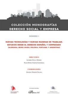 Asdmolveno.it Nuevas Tecnologias Y Nuevas Maneras De Trabajar. Estudios Desde E L Derecho Español Y Comparado. Ebbok Image