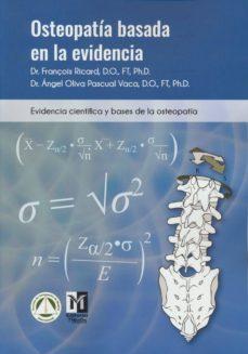 Descarga de libros pdf OSTEOPATÍA BASADA EN LA EVIDENCIA 9788494588235 (Literatura española)