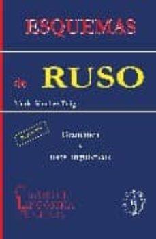 Descargas de libros electrónicos de libros de texto ESQUEMAS DE RUSO: GRAMATICA Y USOS LINGÜISTICOS (3ª ED)