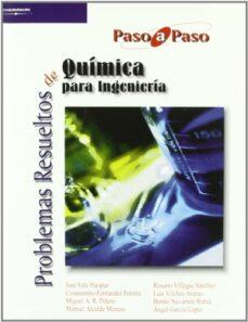 Descarga gratuita de formato de texto ebook PROBLEMAS RESUELTOS DE QUIMICA PARA INGENIERIA (PASO A PASO) de  PDF 9788497322935 in Spanish
