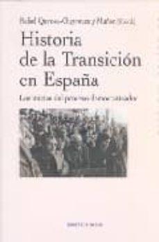 historia de la transicion en españa-rafael quirosa-cheyrouze-9788497427135
