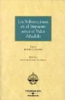SUBVENCIONES EN EL IMPUESTO SOBRE EL VALOR AÑADIDO - VV.AA. | Triangledh.org