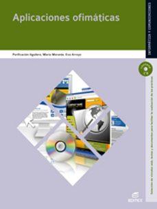 aplicaciones ofimáticas 2011. (sistemas microinformatico y redes)-9788497719735