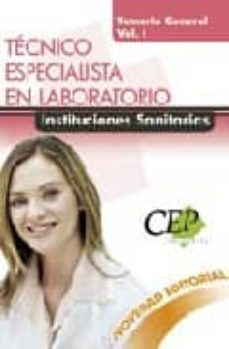 Alienazioneparentale.it Tecnico Especialista En Laboratorio. Instituciones Sanitarias. Te Mario General. (Vol. I) Image