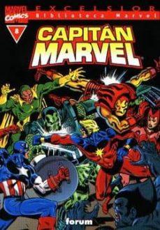 Bressoamisuradi.it Capitan Marvel Nº 8 (Biblioteca Marvel) Image