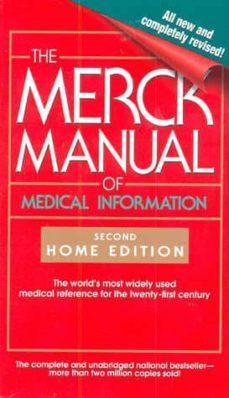 Descarga libros en línea gratis yahoo THE MERCK MANUAL OF MEDICAL INFORMATION (2ND ED.)