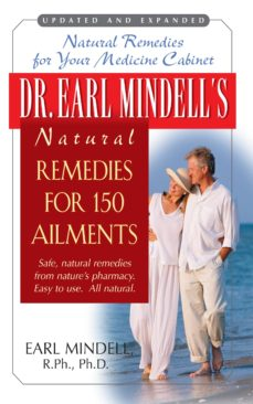 dr. earl mindell's natural remedies for 150 ailments (ebook)-earl mindell-9781591205845