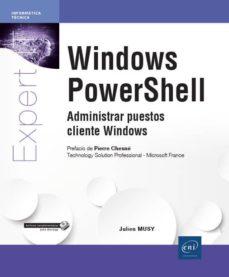 windows powershell-julien musy-9782409012945