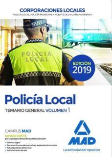 Viamistica.es Policia Local: Temario General (Vol. 1) Image