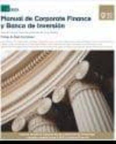 Descargar MANUAL DE CORPORATE FINANCE Y BANCA DE INVERSION gratis pdf - leer online