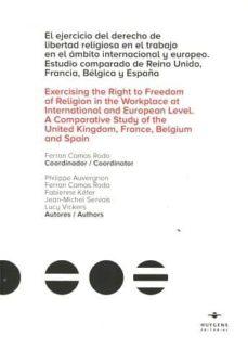 Carreracentenariometro.es Ejercicio Del Derecho De Libertad Religiosa En El Trabajo En El Ambito Internacional Y Europeo: Estudio Comparado De Reino Unido,francia, Belgica Y España Image