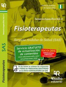 Elmonolitodigital.es Fisioterapeutas Del Sas. Temario Específico. Volumen 4 Image