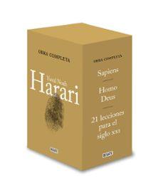 Descargas gratuitas de libros de audio ESTUCHE DE LA TRILOGIA HARARI: SAPIENS / HOMO DEUS / 21 LECCIONES PARA EL SIGLO XXI de YUVAL NOAH HARARI ePub PDB 9788417636845 (Spanish Edition)