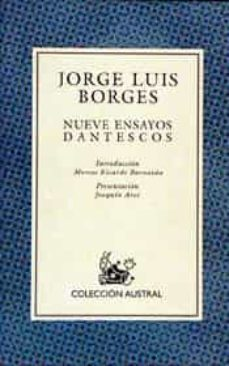 nueve ensayos dantescos (3ª ed.)-jorge luis borges-9788423974245