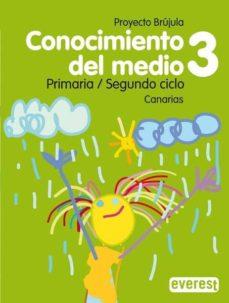 Permacultivo.es Conocimiento Del Medio 3 Educacion Primaria Guia Didactica Brujula (Canarias) Cd Image