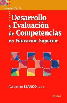 desarrollo y evaluación de competencias en educación superior (ebook)-ascension blanco-9788427721845