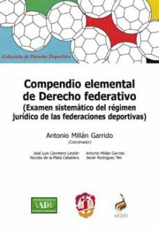 compendio elemental de derecho federativo-antonio millan garrido-9788429018745