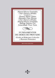 Geekmag.es Fundamentos De Derecho Privado (2ª Ed.) Image
