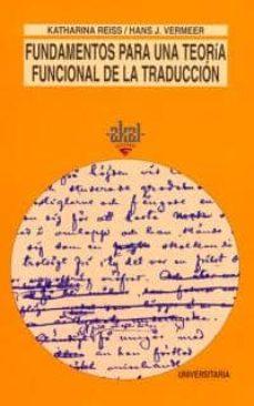 Upgrade6a.es Fundamentos Para Una Teoria Funcional De La Traduccion Image