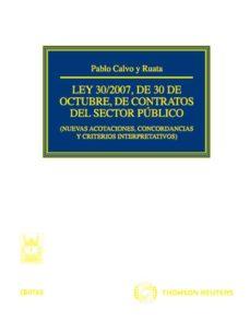 Upgrade6a.es Contratos Del Sector Publico Ley 30/2007 De 30 Octubre Image