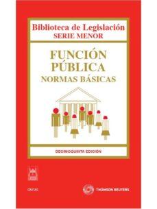 Geekmag.es Funcion Publica: Normas Basicas 2010 (15ª Ed.) Image