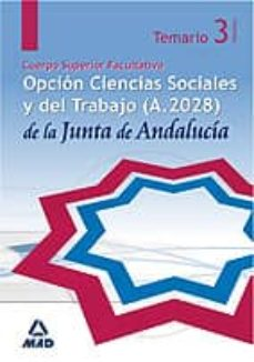 Chapultepecuno.mx Cuerpo Superior Facultativo De La Junta De Andalucia, Opcion Ciencias Sociales Y Del Trabajo (A.2028). Temario Especifico. Image