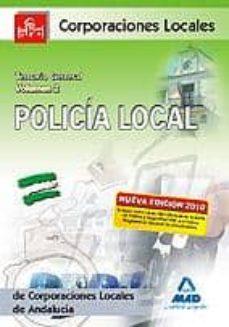 Carreracentenariometro.es Policia Local De Andalucia. Temario General. Volumen Ii Image