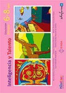 Chapultepecuno.mx Inteligencia Y Talento. Cuadernillo De Educacion Primaria 6-8 Año S Image