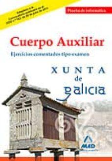 Viamistica.es Cuerpo Auxiliar De La Xunta De Galicia. Prueba De Informatica. Ej Ercicios Comentados Tipo Examen Image