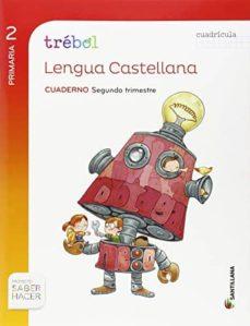 Geekmag.es Lengua 2º Primaria Globalizado Segundo Trimestres Cuaderno Trebol Cuadricula Image