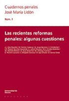 Permacultivo.es Las Recientes Reformas Penales: Algunas Cuestiones Image