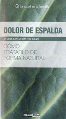 Libros gratis para descargar para pc. DOLOR DE ESPALDA MOBI de DR. CARLOS BASTIDA 9788475567945 en español