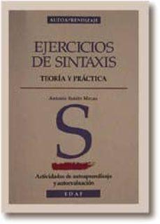 Cronouno.es Ejercicios De Sintaxis: Teoria Y Practica Image