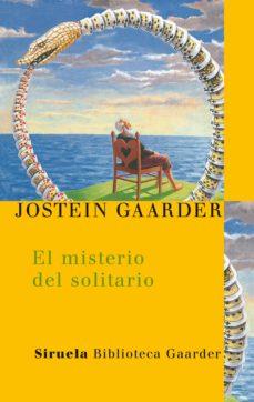 el misterio del solitario-jostein gaarder-9788478448845