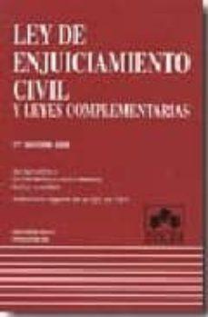 Bressoamisuradi.it Ley De Enjuiciamiento Civil Y Leyes Complementarias (17ª Ed. 2008 ) Image